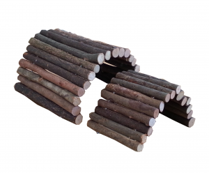 Flexible Wooden Bridge or Shelter - Small & Medium size