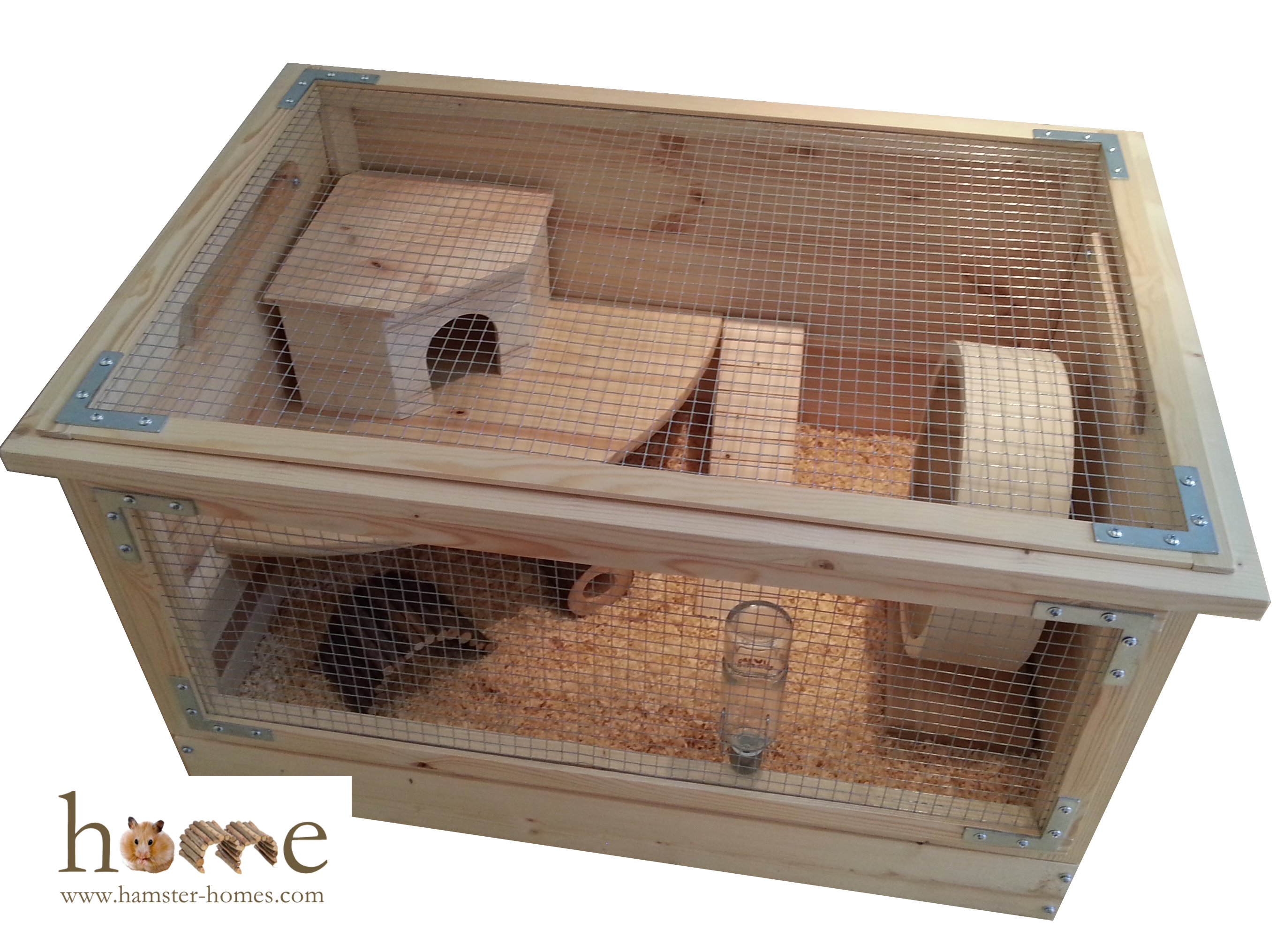 how to clean a hamster cage naturally