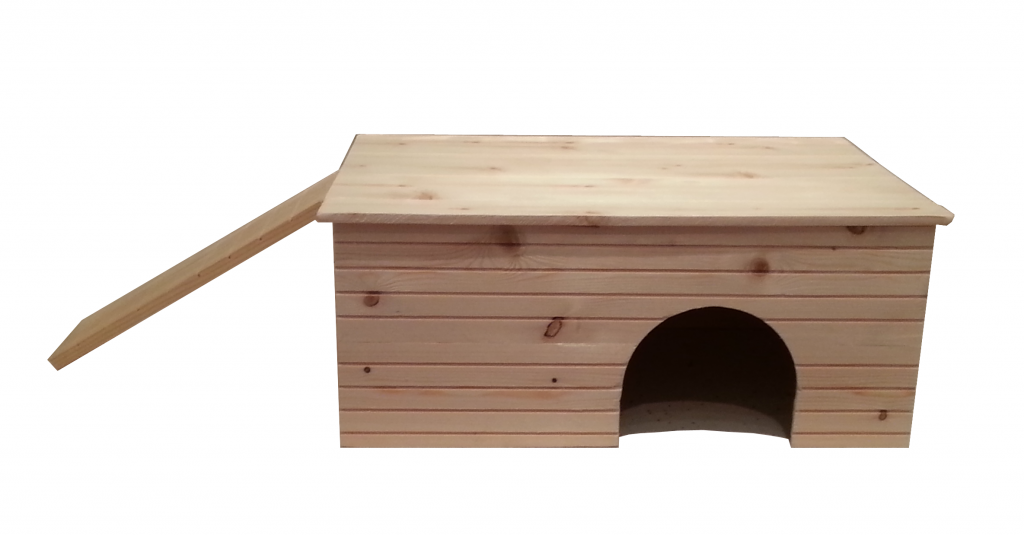 Guinea pig house front view for Guinea pig homes