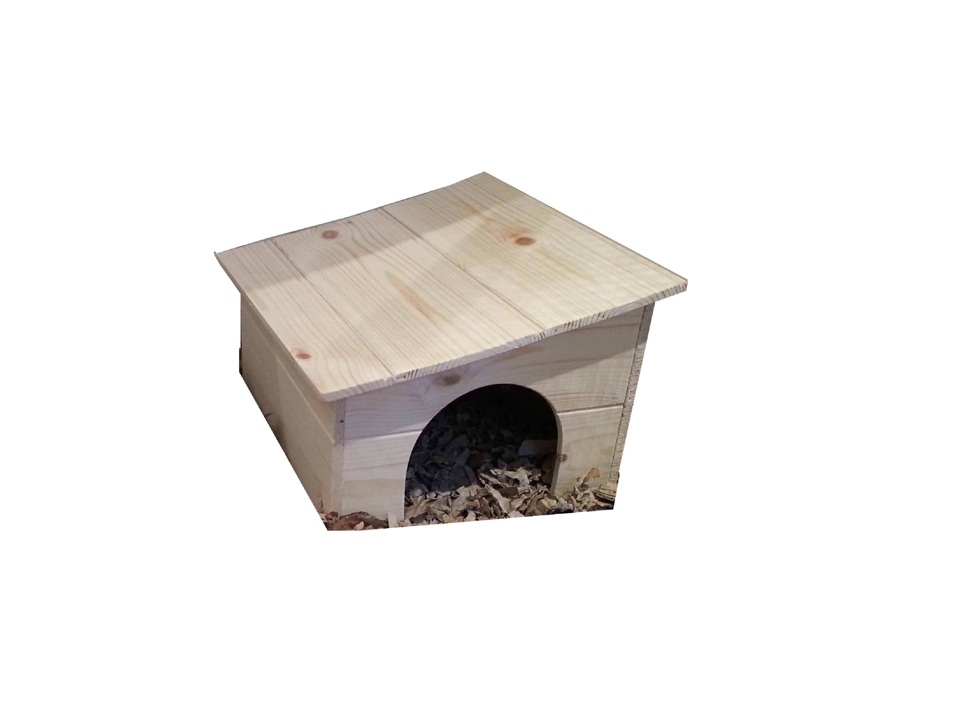 Little guinea pig hedgehog house with slanting roof for Guinea pig homes