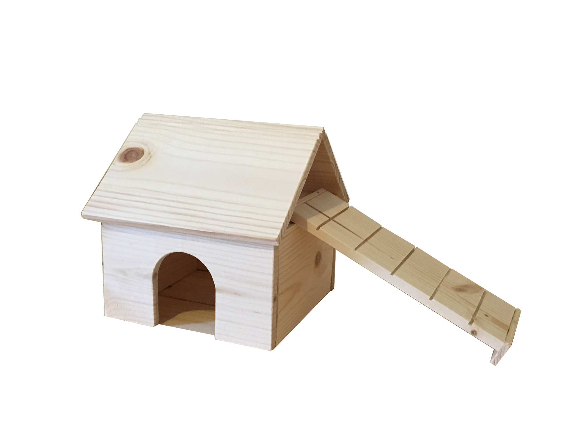 ... by Brand / *Our Own Brand Products* / Natural Wood Dwarf Hamster House