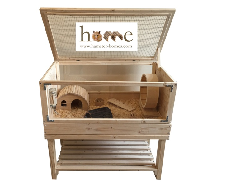 90cm Perspex Pet Home with Stand