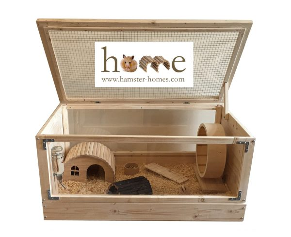 90cm Small Pet Home with Perspex Front and Back