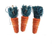 Rosewood Play Carrots - Pack of 3