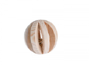 Wooden Ball with Bell view 1