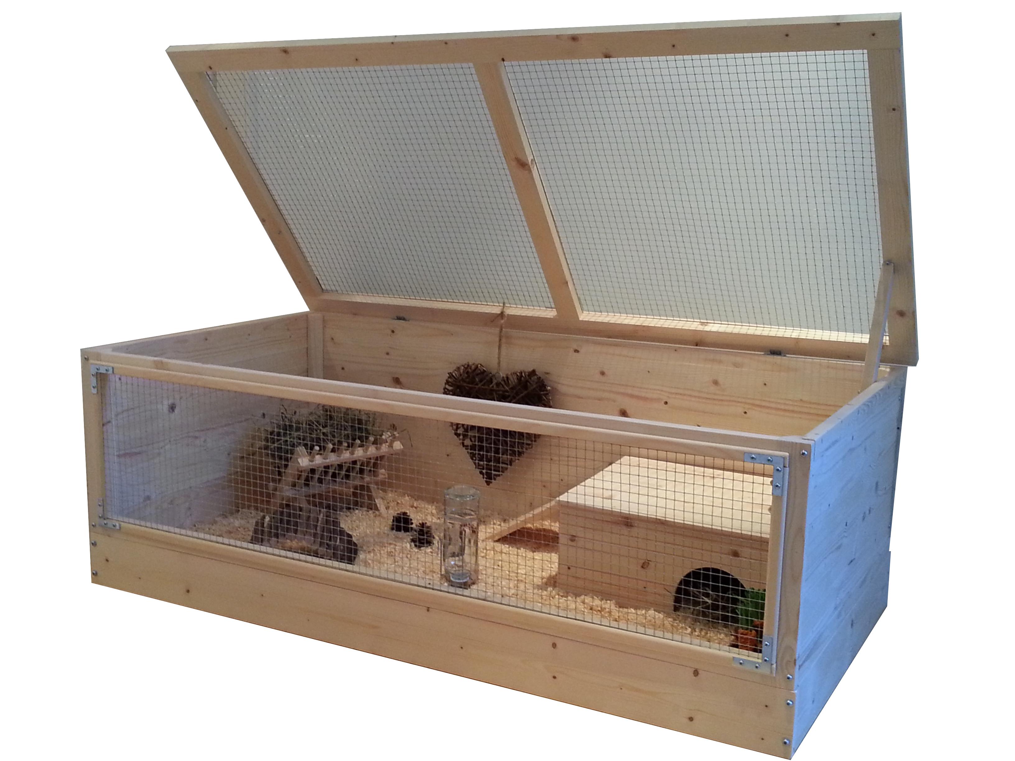 super large 120x60cm wooden guinea pig cage