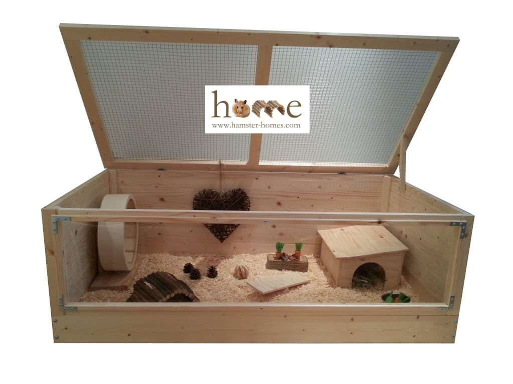 African Pygmy Hedgehog Cage with Perspex front