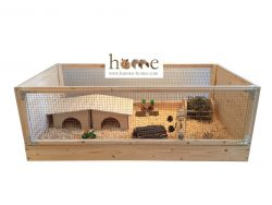 Large Indoor Guinea Pig Cage C&C Style with Open Top