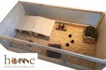 120cm Open Top Guinea Pig Cage – Interior