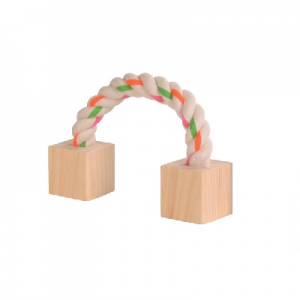 Cotton Play Rope with Wooden Blocks