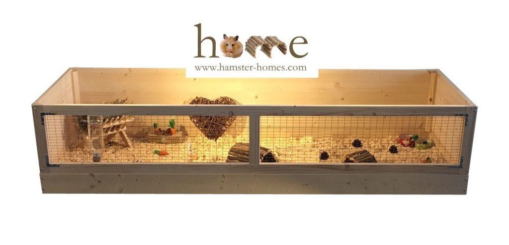 180cm x 60cm Guinea Pig Cage - Front View