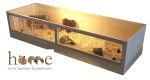 180cm x 60cm Guinea Pig Cage – Side View
