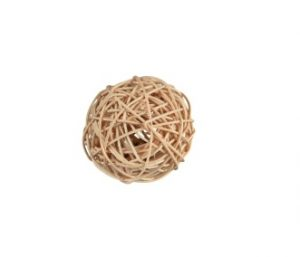 Trixie Wicker Ball with Bell